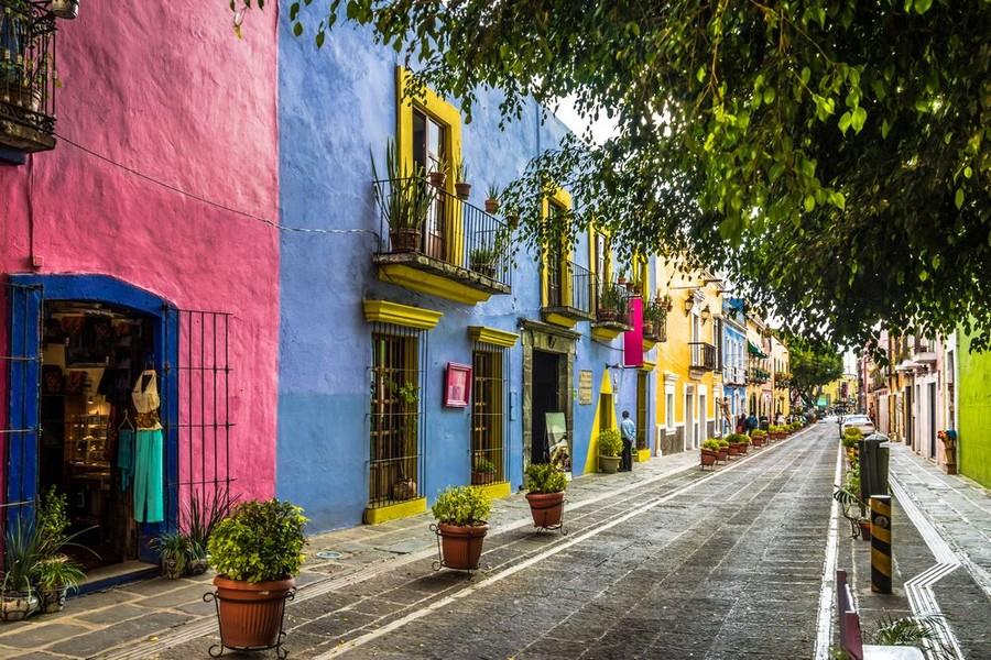 Callejon de los Sapos, Puebla, Messico