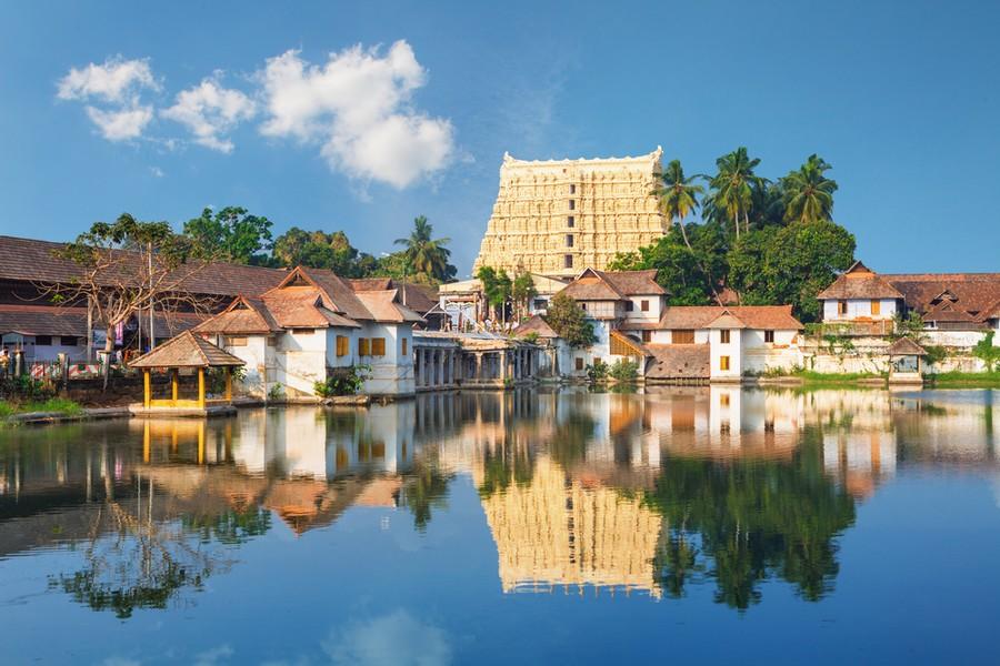 Tempio Padmanabhaswamy in India