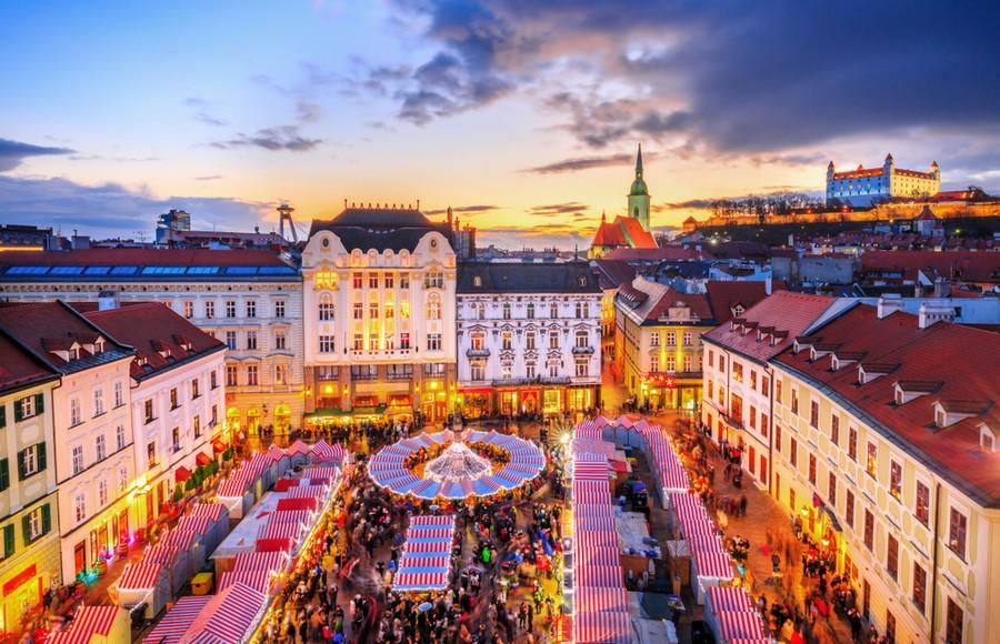 Bratislava, i mercatini di Natale