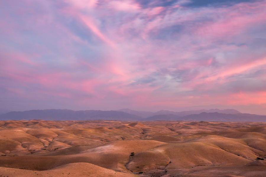 Tramonto sul Deserto di Agafay