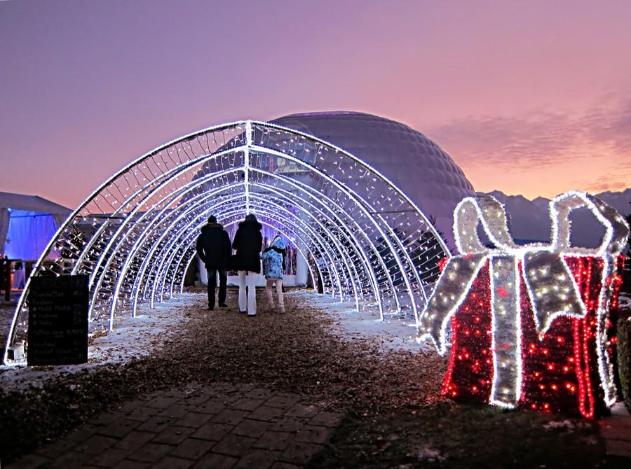 Natale a Montreux, in Svizzera