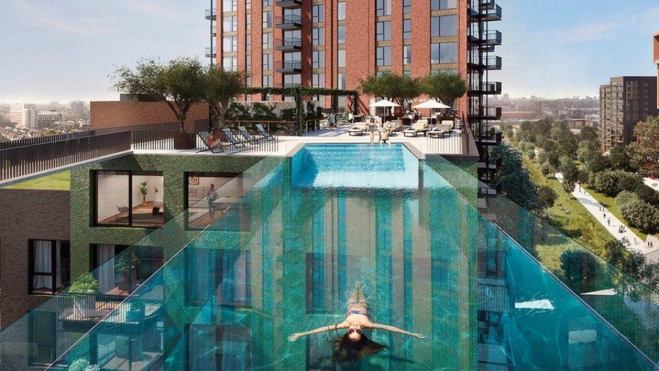 Sky Pool a Londra, la piscina sospesa – © www.embassygardens.com