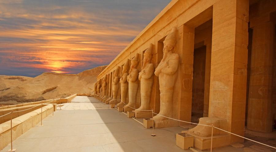 Valle dei Re in Egitto
