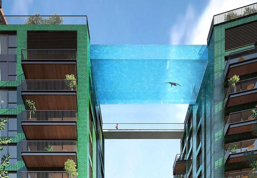 Sky Pool - © embassy garden / arup associates