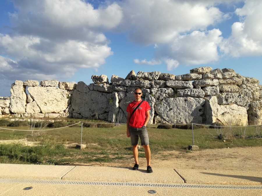 Fabio Albanese (TO Malta Evolution Travel) a Gigantia