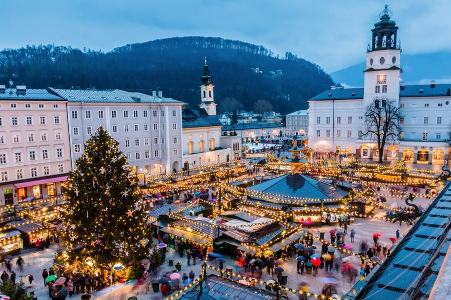 Salisburgo, lo storico mercatino di Natale