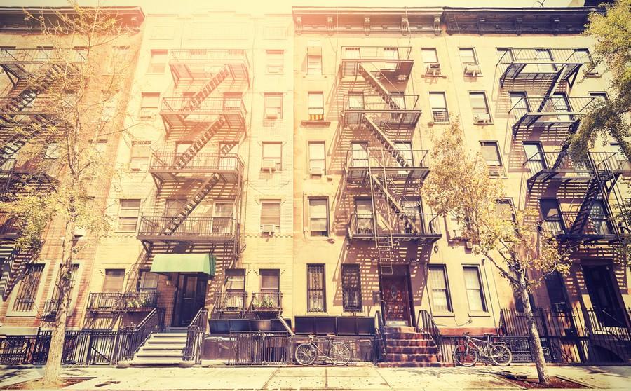 Case del Bronx, New York