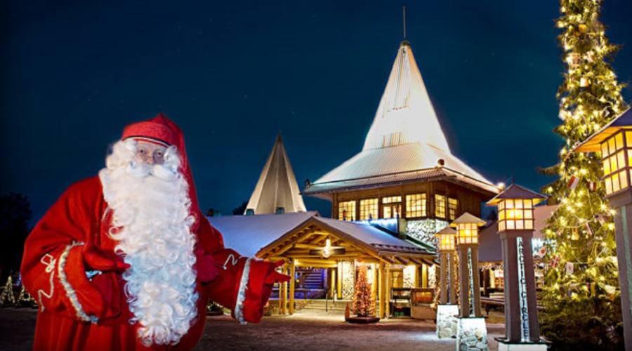 La vera Casa di Babbo Natale a Rovaniemi