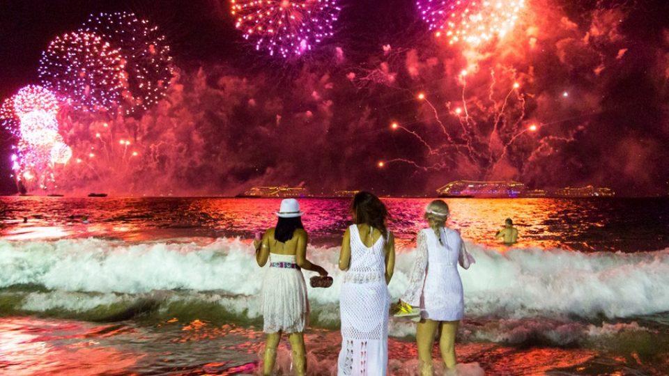 Capodanno al mare in Brasile