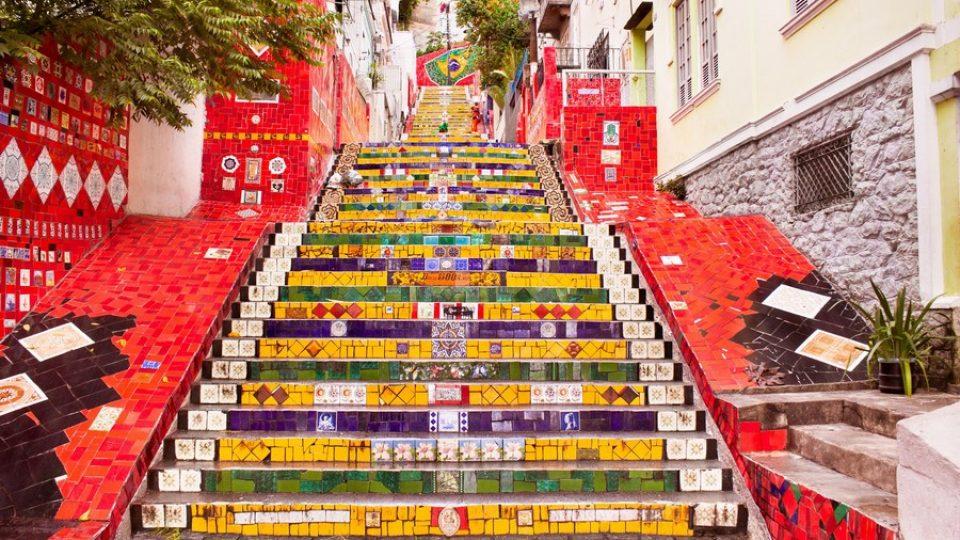 Escadaria Selarón – Rio de Janeiro