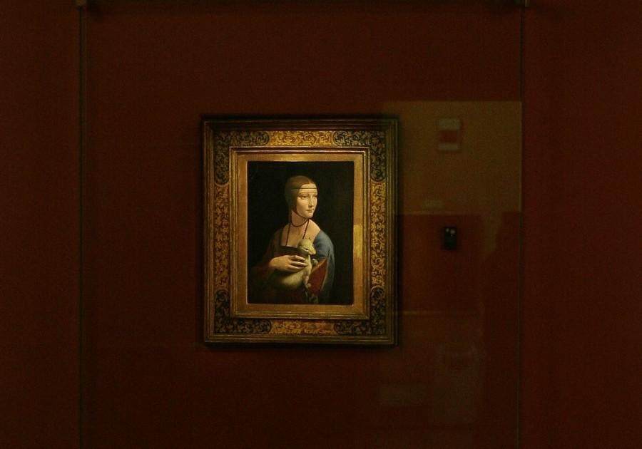La Dama con l'ermellino - ph Cezary Piwowarski via Wikipedia - Creative Commons 4.0 Internazionale