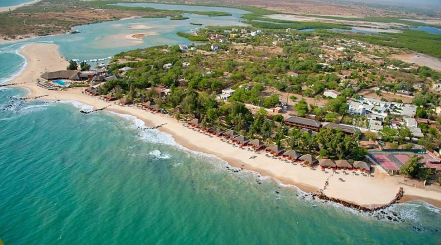 La spiaggia di Saly sulla Petite Côte in Senegal