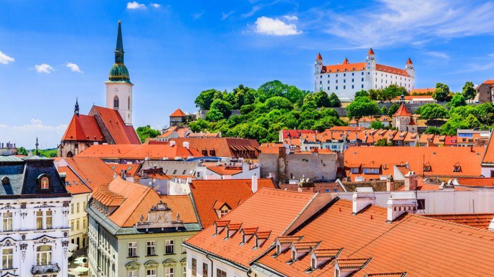 Bratislava, Castello e Cattedrale di San Martino
