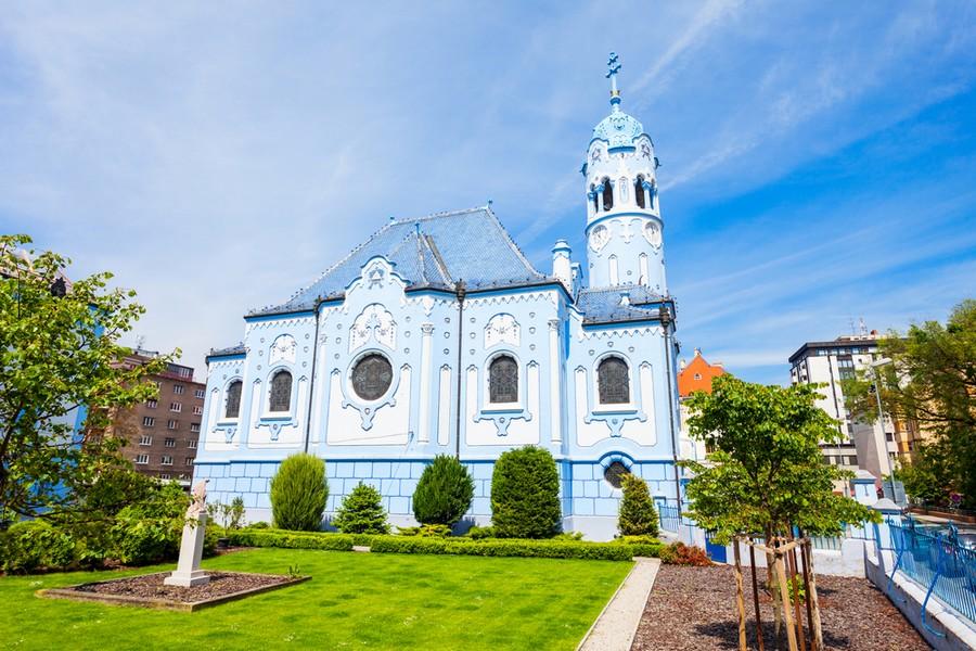 Chiesa Blu, Bratislava