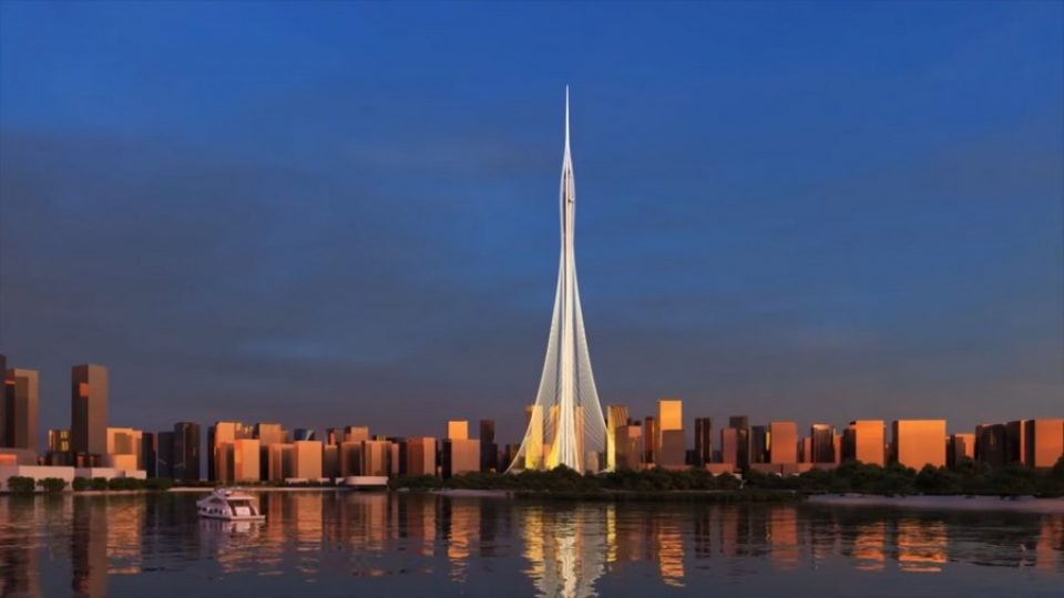 Dubai Creek Tower – immagine tratta dal video Dubai Creek Tower by Emaar
