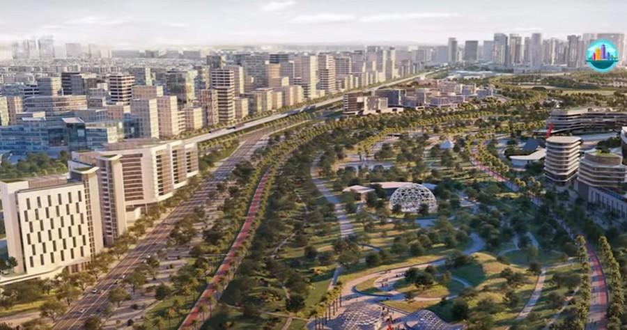 Progetto della Nuova Capitale d'Egitto