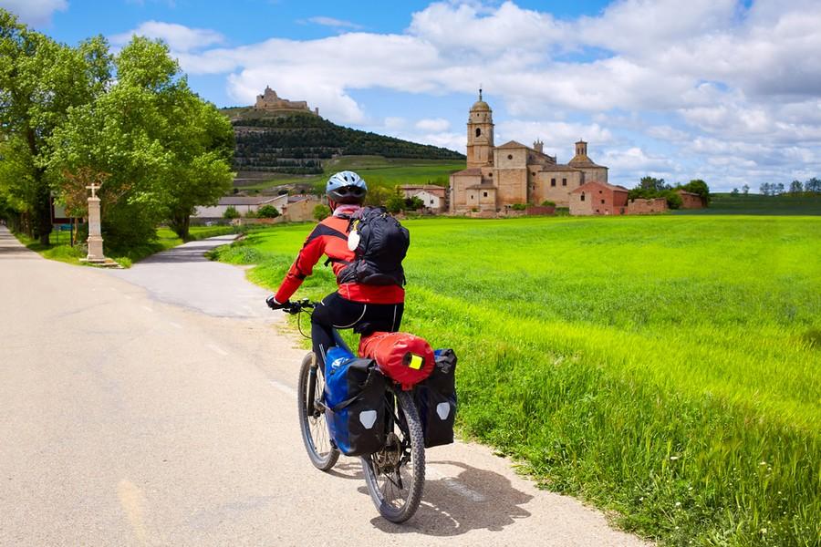 Sul cammino di Santiago in bicicletta