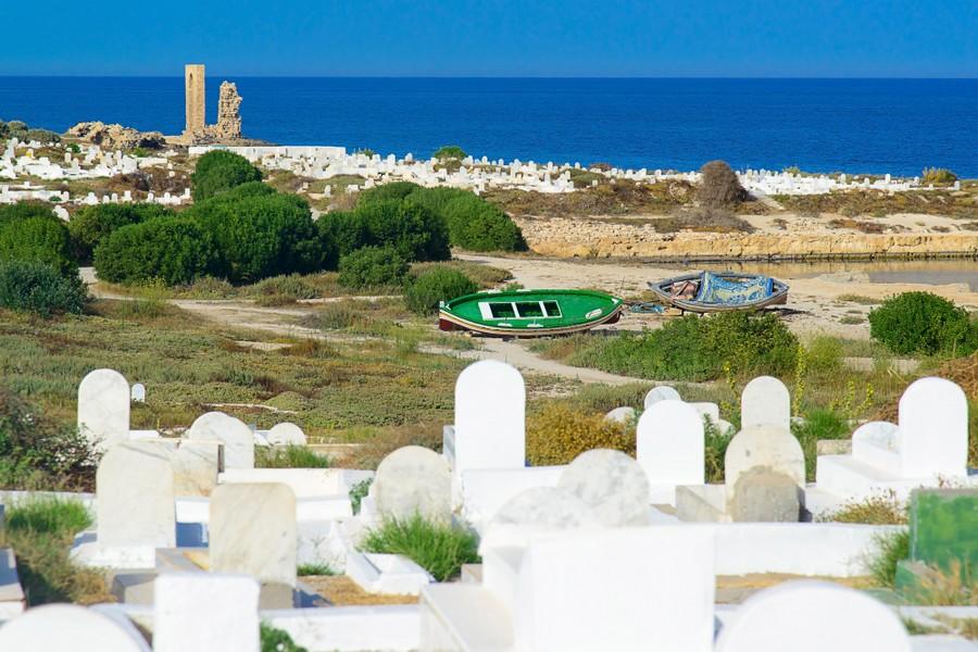 Cimitero marino di Mahdia