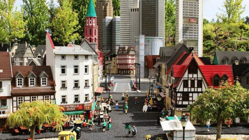Legoland a Billund: Miniland