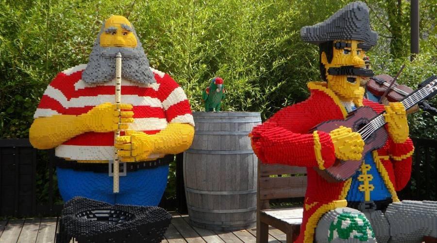 Legoland Billund, personaggi