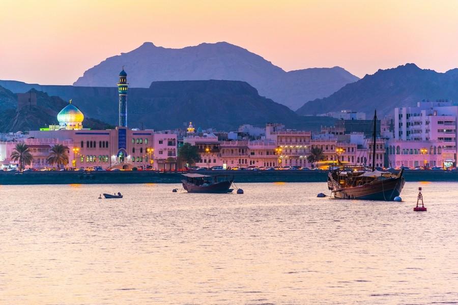 Quartiere Muttrah di Muscat