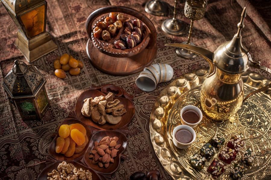 Rituale del caffè in Oman