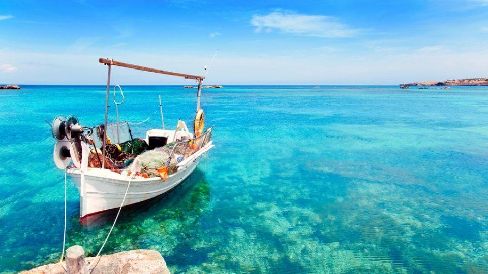 Spiaggia di Els Pujols a Formentera
