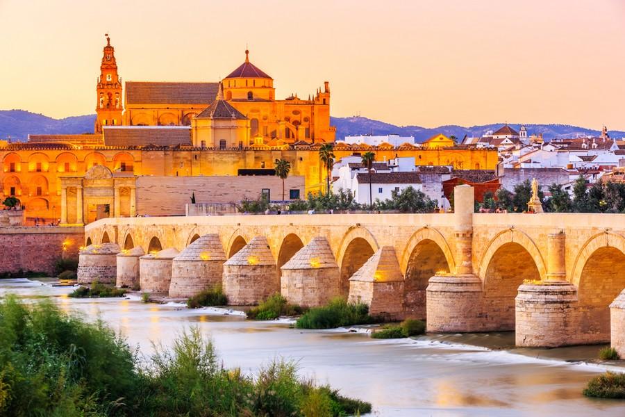 Vista su Cordoba: Ponte romano e Mezquita