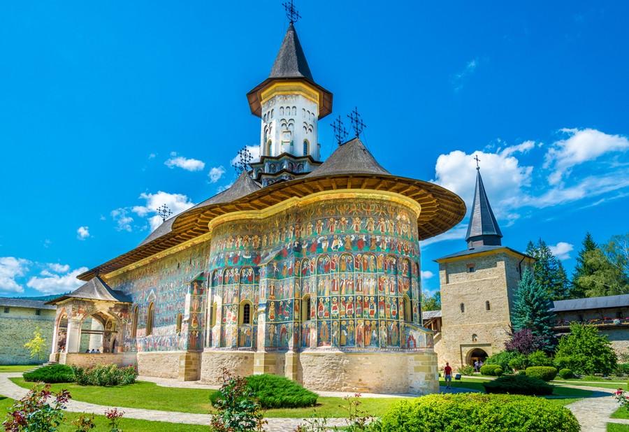 Monastero di Sucevita, Bucovina (Romania)
