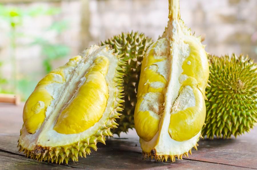 Il durian, frutto puzzolente