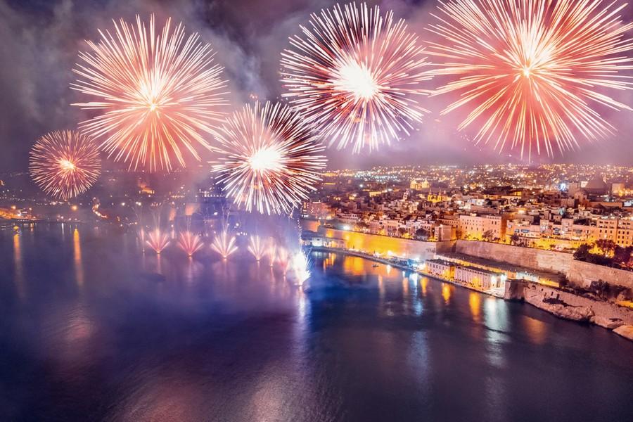Malta International Fireworks Festival – La Valletta