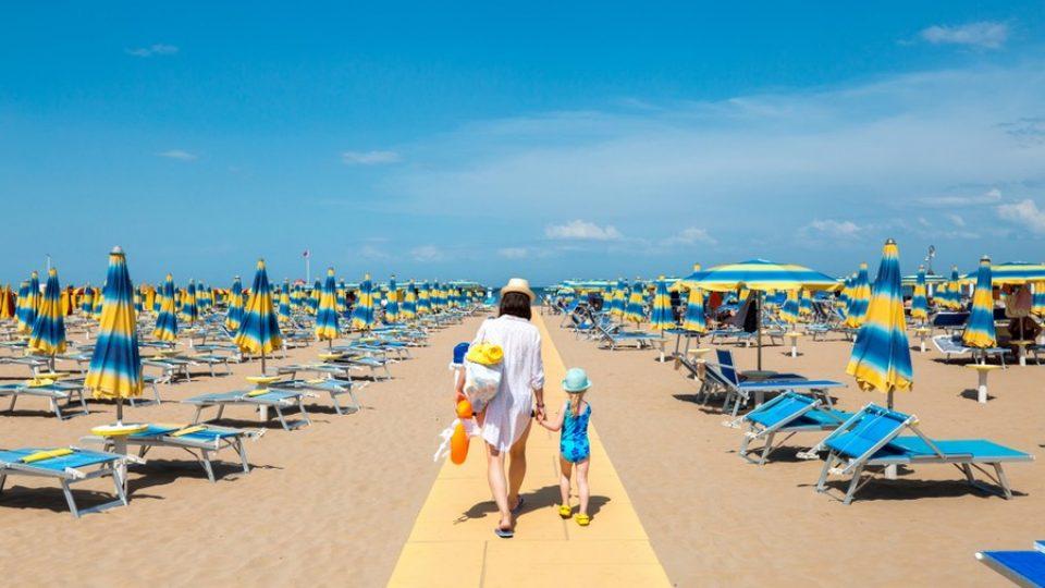 Vacanze mare genitore single con bambini in Emilia Romagna