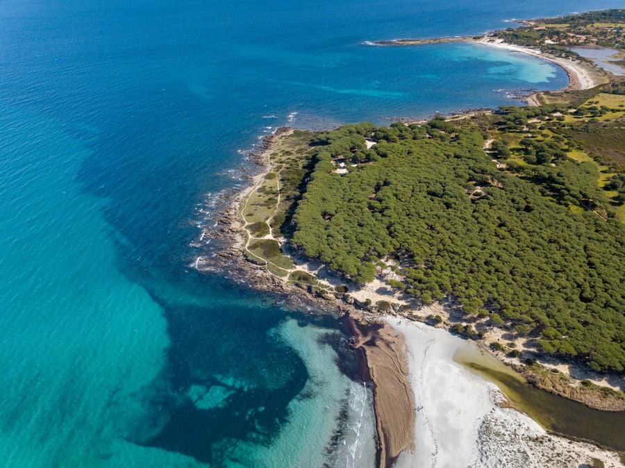 Baia di Sant'Anna, una delle spiagge di Budoni in Sardegna