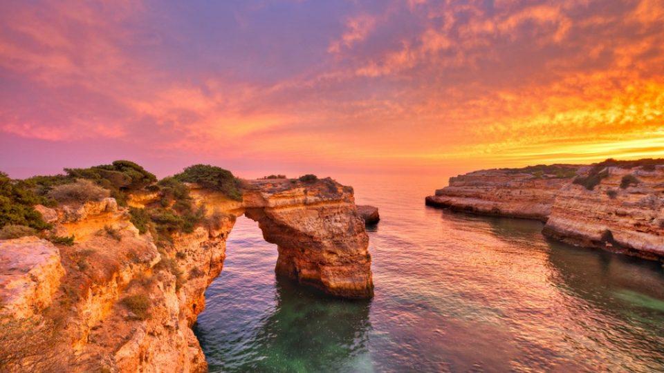 Praia de Albandeira, Algarve (Portogallo)