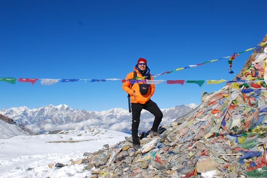 Bruno Bottaro, esperto trekking Evolution Travel: qui sull'Everest
