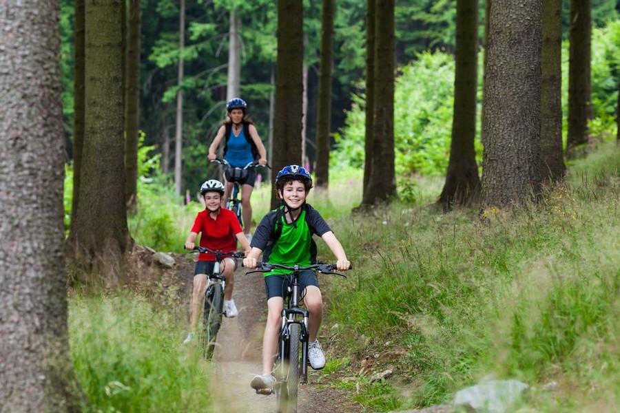 Vacanze in bicicletta in famiglia