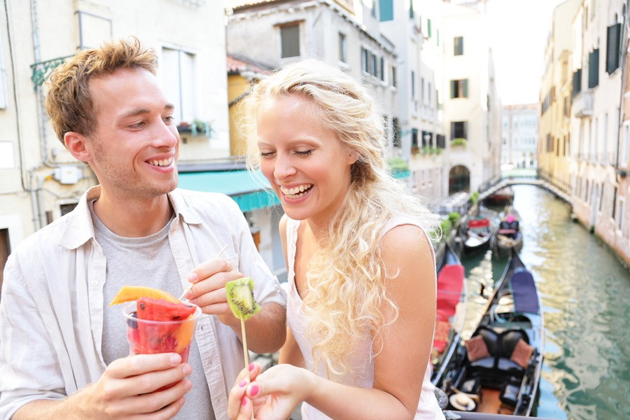 Viaggio di nozze in Italia, a Venezia