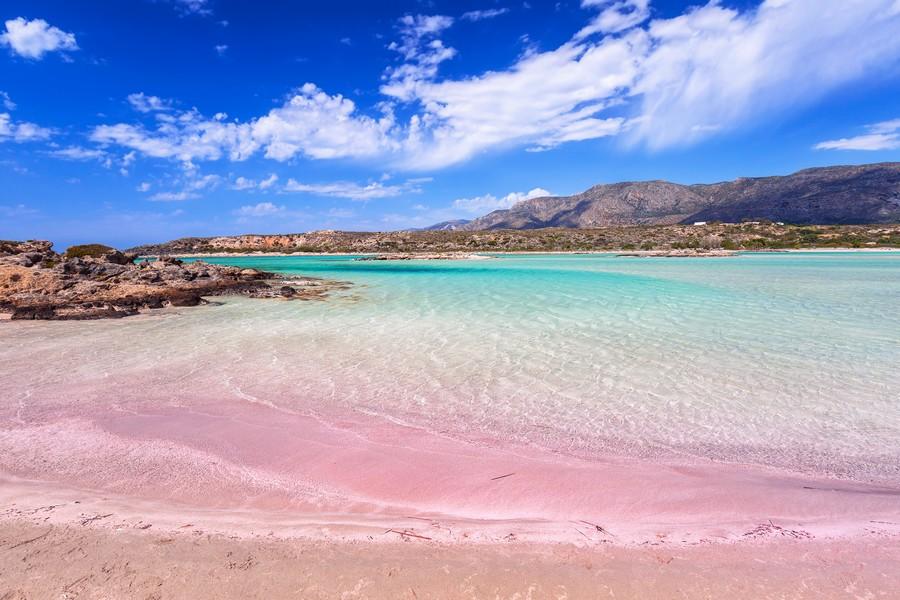 Spiaggia di Elafonissi a Creta