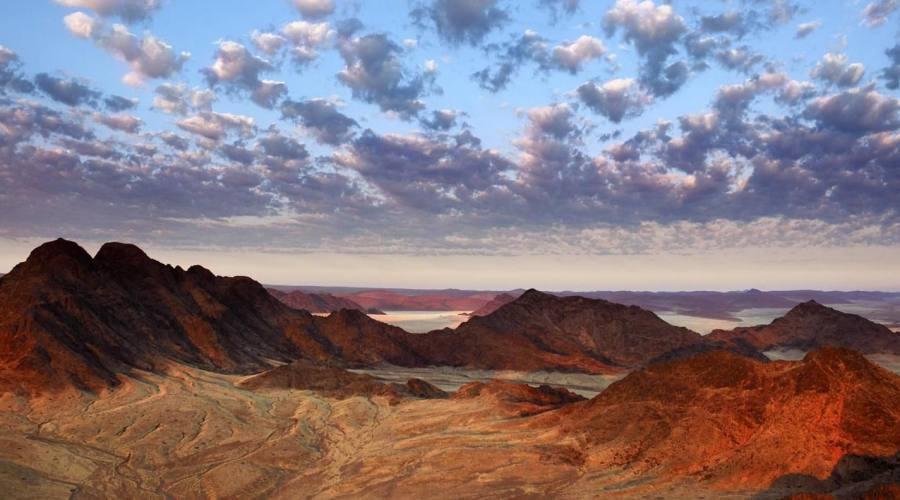 Kaokoland, panorama della zona montuosa