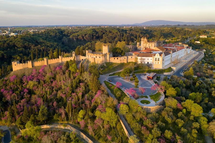 Convento di Cristo a Tomar, in Portogallo