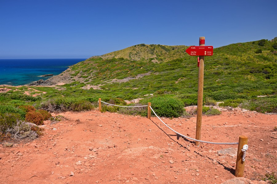 Una tappa sul Cami de Cavalls a Minorca
