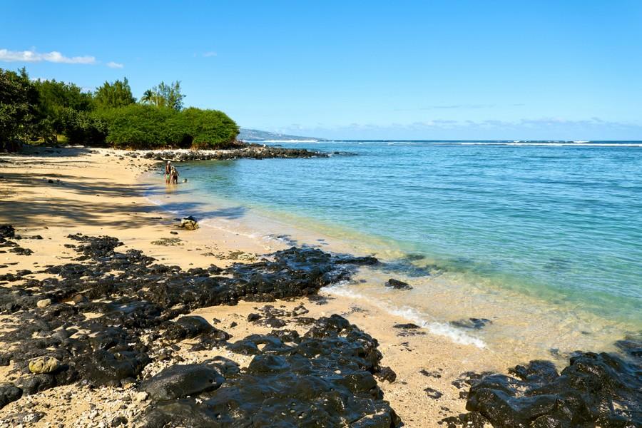 Saline Les Bains, una delle spiagge di La Reunion