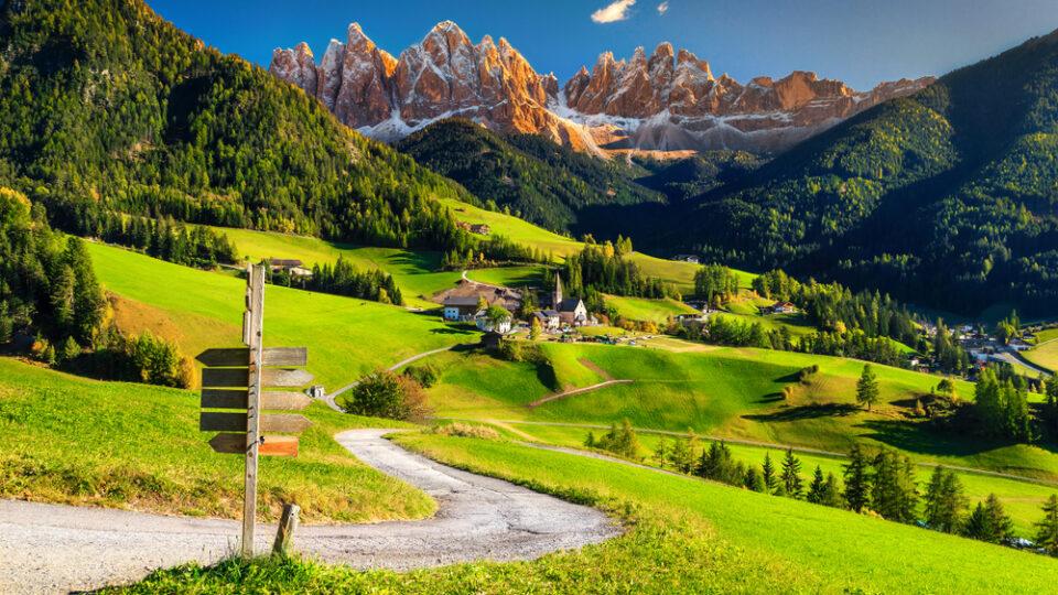 Dolomiti e Val di Funes (Trentino Alto Adige)