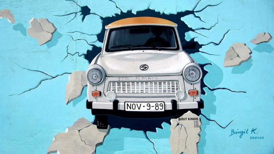 East Side Gallery: Trabant