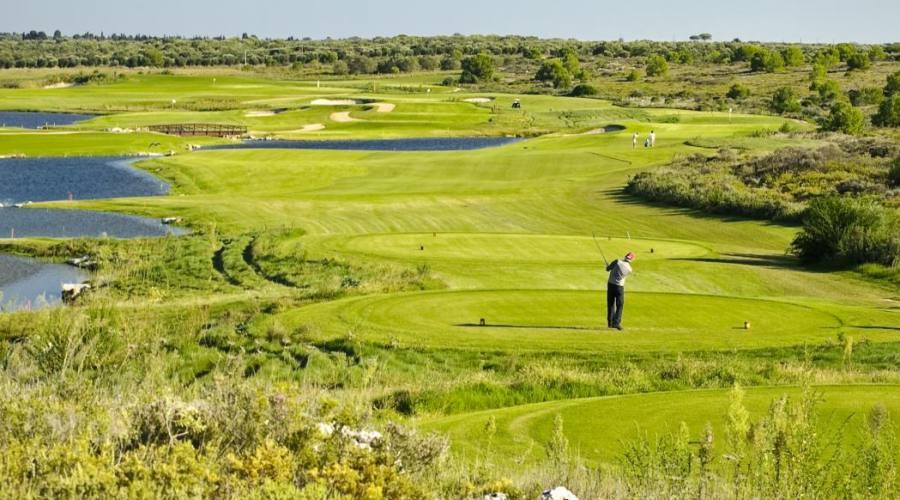 Autunno in Salento giocando a golf
