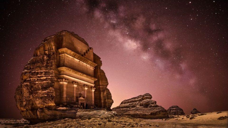 La Via Lattea vista dall'Arabia Saudita