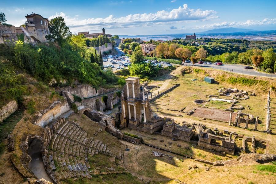 Anfiteatro romano di Volterra