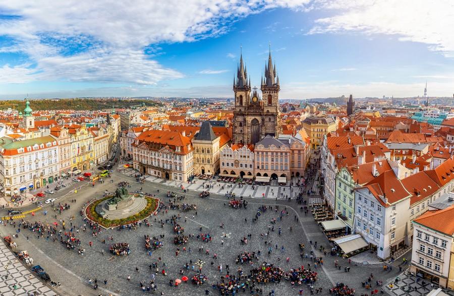 Praga, Piazza della Citta Vecchia