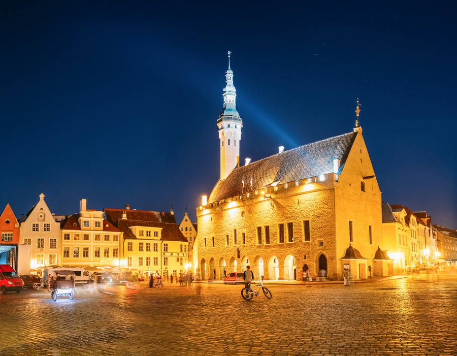 Tallinn, il Municipio o Raekoja