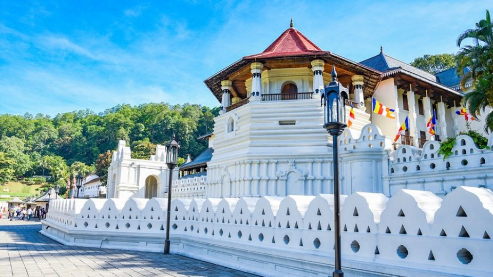 Tempio del dente di Buddah a Kandy (Sri Lanka)